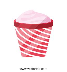 ice cream in a cup