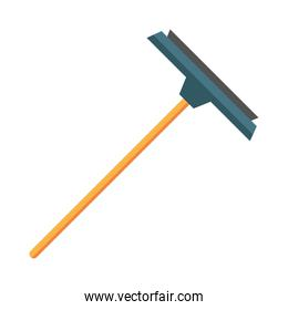 squeegee tool cleaning