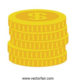 money coins stack