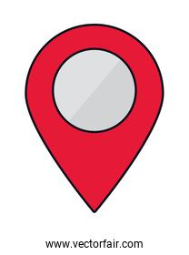 red location pin