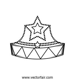 crown with star
