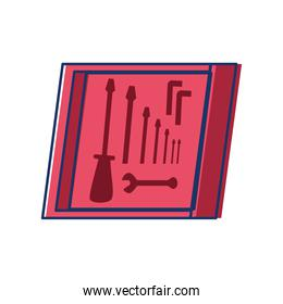 box with tools icon