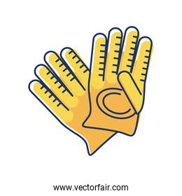 gloves construction tool