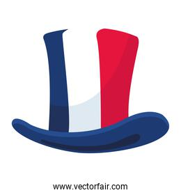 french flag tophat