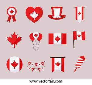 canada day items pack