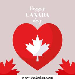 independence canada day card