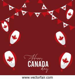 canada party decoration