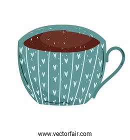 delicate coffee or tea cup