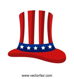 tophat with usa flag