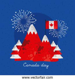 canada day mount