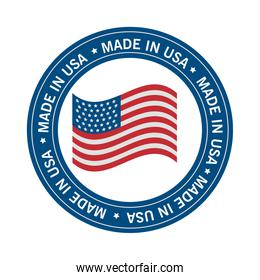 made in usa seal