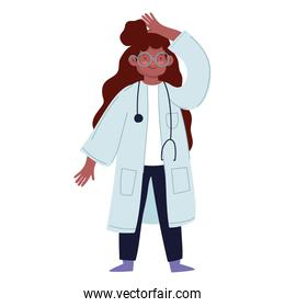 character woman doctor