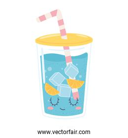 plastic cup water