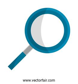 magnifying glass research