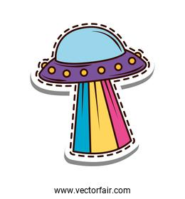 UFO spaceship patch