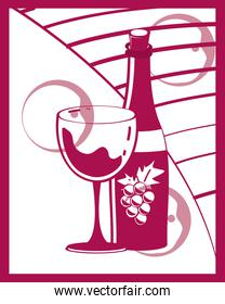 wine template poster