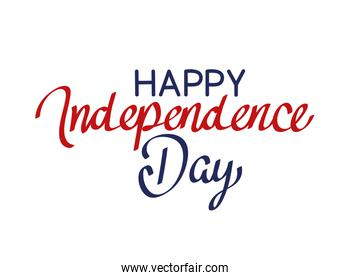 Happy idependence day letters