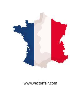 French map icon