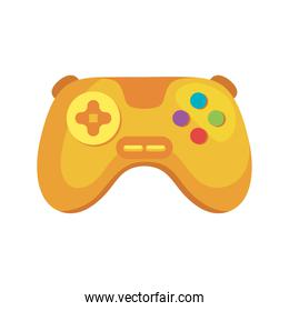 yellow videogame control