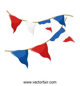 French banner pennant