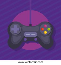 videogame control with cable