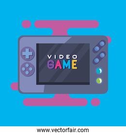 videogame with screen