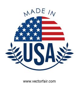made in united states emblem