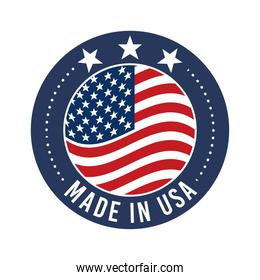 made in united states badge