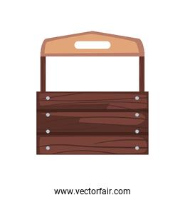 wooden toolbox icon