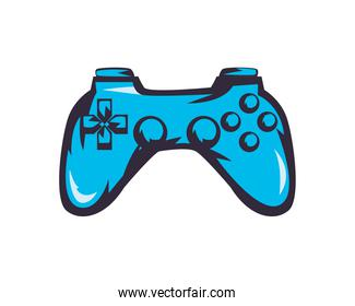 video game control of blue color