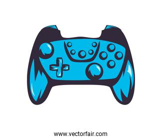 blue video game control