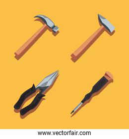collection tools construction