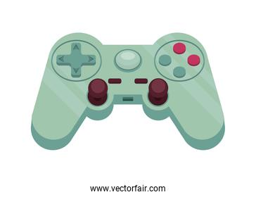 green video game control