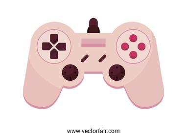 pink video game control