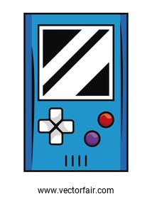 old videogame portable device