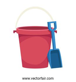 bucket and shovel toy