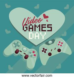 video games day card