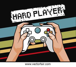 video game hard player