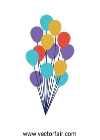 colorful ballons pack