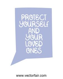 protect loved words