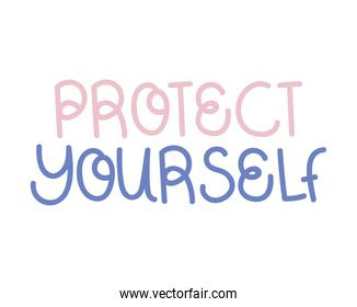 protect yourself phrase