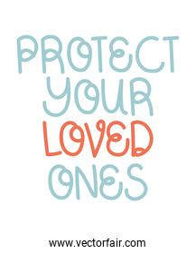 protect loved phrase
