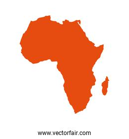 map from africa