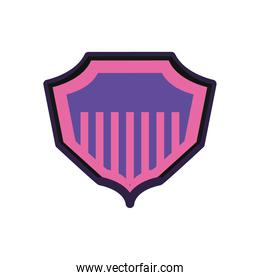 pink shield icon