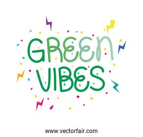 green vibes label