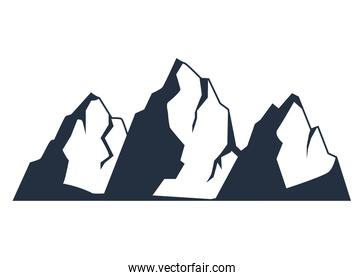 wanderlust mountains silhouettes