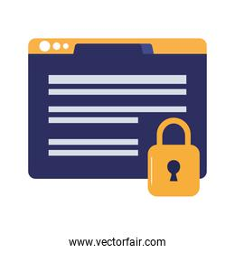 security web page