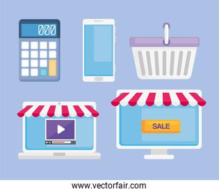 collection of ecommerce
