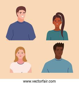 young people characters