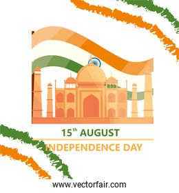 15th august independence india